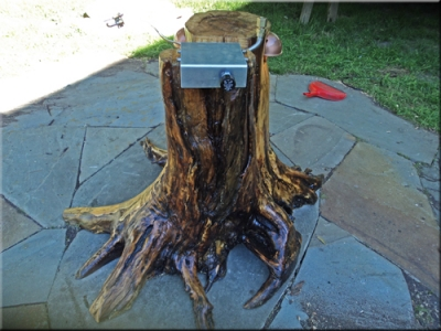custom propane Drift Wood fire Table 1