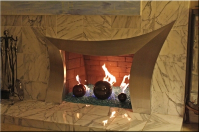 Jasmine Bals Fireplace Surround