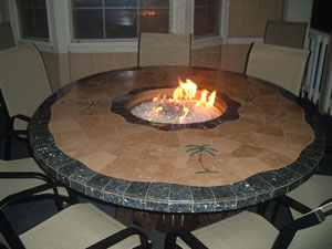 outdoor fire pit furniture