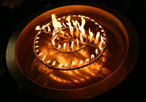 aluminum pan for propane burner