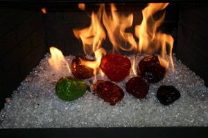 Portable Propane Fire Pits Fireplace And Fire Pit Glass For Replacement Of Your Gas Logs Design R