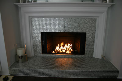 Fire Pit Glass on Fire, Fireplace Glass Fireglass Glass and Ice on ...