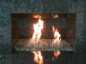Fireplace Glass Pictures | Fire Pit Glass Pictures | Fireplace ...