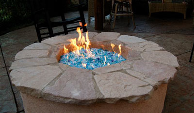 Fire Pit, Fire Glass, Fireglass, Fireplace Glass, Fireplace ...