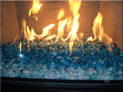 Glass and Ice for your Fireplace Design Fireplace and Fire Pit glass,