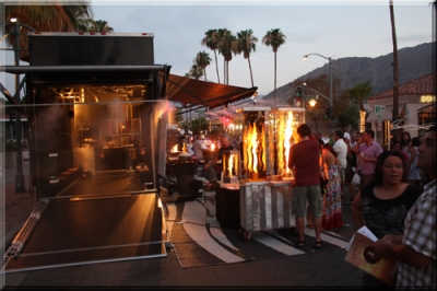 Palm Springs show trailer