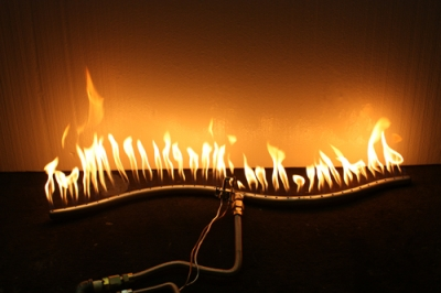 ... S Burner propane or natural gas burner - Fireplace Burners, Stainless Steel Burners, Natural Gas Burners