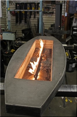 Fire Pit Pan and Burner